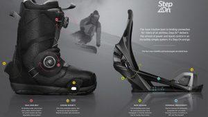 Новые крепления и ботинки от Burton - STep On