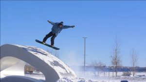 Odd Folks 2 кадры из фильма о сноуборде