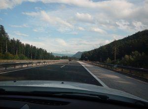 дорога в Хорватии